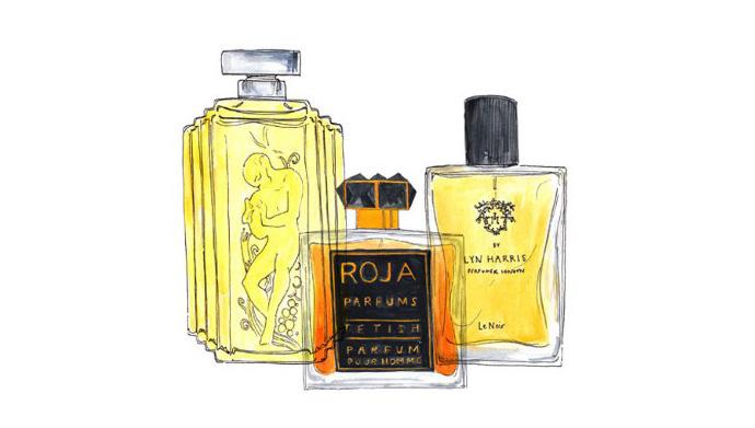Three men's fragrance for Christmas