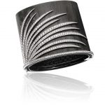 Adler-'Fireworks'-bracelet-in-white-gold-and-in-carbon-set-with-diamonds