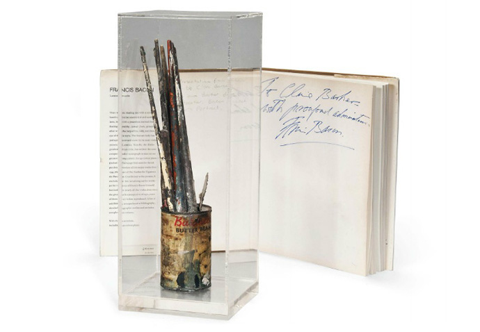 Francis-Bacon's-paintbrushes