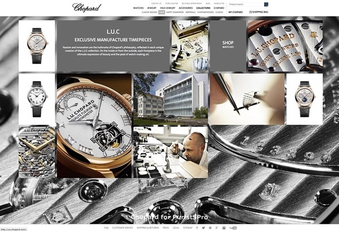 Chopard-Website