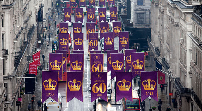 Regent-Street-turns-purple-to-celebrate-The-Queen's-Coronation-feat