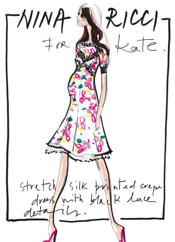 kate-middleton-outfits-sketches-Nina-Ricci