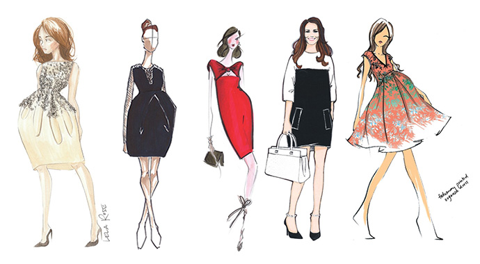 kate-middleton-outfits-sketches