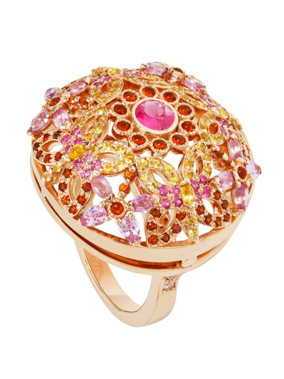 BAGUE AILES PSYCHE OR