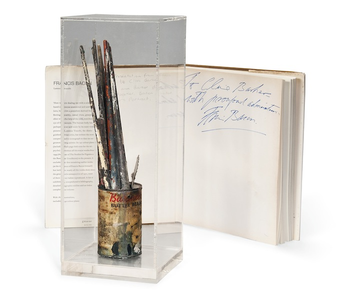 Francis Bacon's brushes for sale