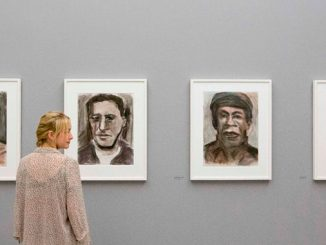 Bob-Dylan-Face-Value,-at-National-Portrait-Gallery
