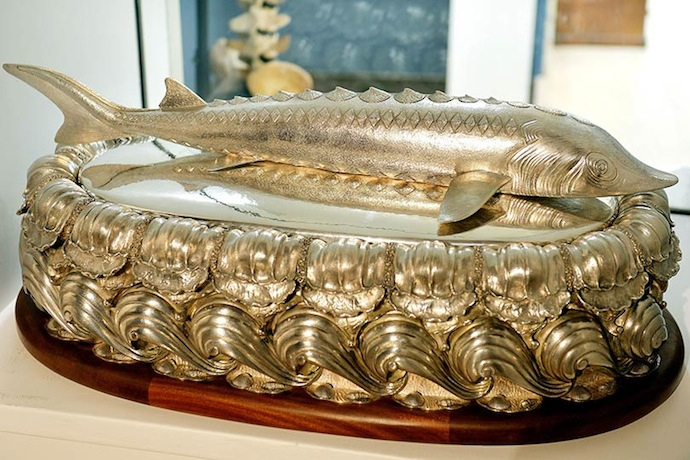 silver-dish