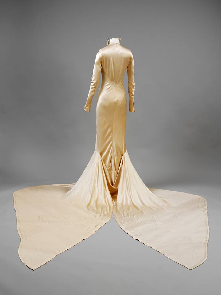 Worn by Baba (Barbara) Beaton for her marriage to Alec Hambro