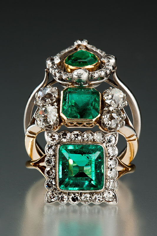 Emerald-Rings