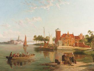 In the Zuider Zee' by William Raymond Dommersen