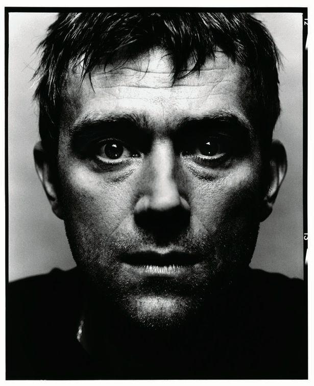 David Bailey Portrait photo of Damon Albarn