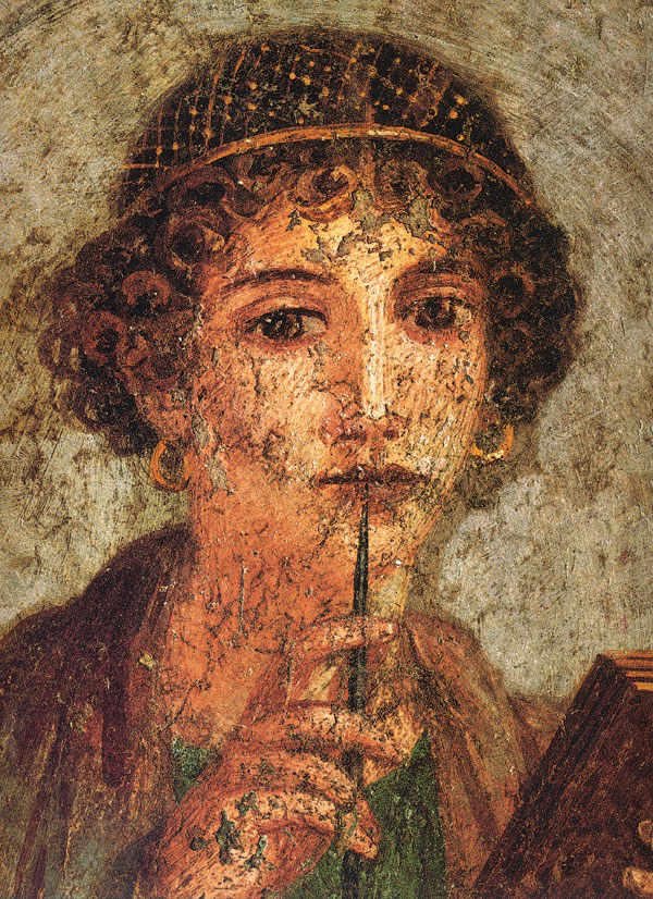 sappho and her creative work essay Finding women in greek literature the essay: greek and latin and irrational behaviour of women can similarly be found in the earlier work of sappho.