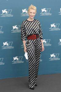 Глава жюри фестиваля Кейт Бланшетт