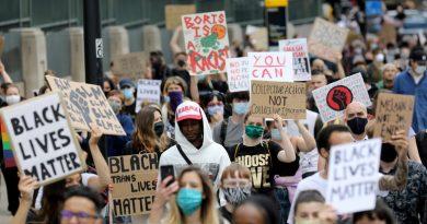 Black Lives Matter protest in London