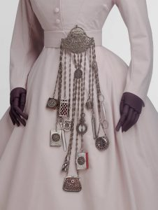 Chatelaine, 1863 – 1885, probably England. Museum no. M.32:1 to 13-1969. © Victoria and Albert Museum, London