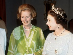Маргарет Тэтчер и Елизавета 2