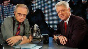 Билл Клинтон у Ларри Кинга