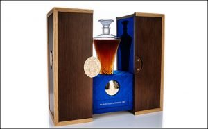 Glenturret limited edition Lalique decanter
