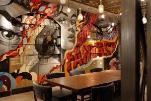 искусство в кафе