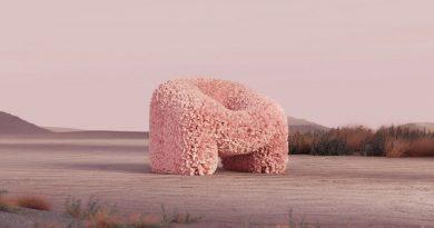 "Hortensia Chair Andres Reisinger ""The Shipping"". Digital Furniture Auction"