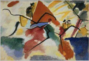 Vassily Kandinsky  Impression V (Parc), 12 mars 1911