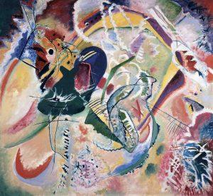 Василий Кандинский  Improvisation No 35, 1914