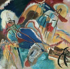 Vassily Kandinsky  Improvisation No 30, 1913