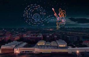 """Звездная ночь"" Ван Гога"