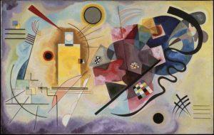 Vassily Kandinsky  Yellow Red Blue, 1925