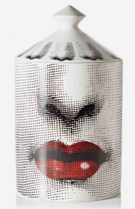 Fornasetti. White Bacio scented candle, 300g. £155