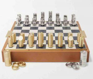 Ralph Lauren Home. Fowler Leather Chess Set, £1995