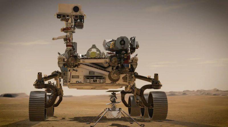 марсоход NASA достиг поверхности планеты