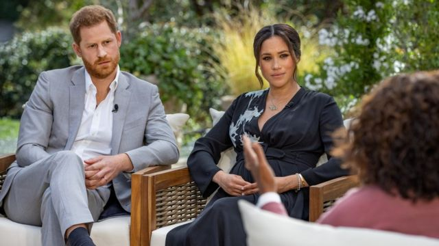 Интервью принца Гарри и Меган Маркл Опре Уинфри