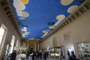 Прежний вид Зала античной бронзы  Фото: Christophe Ena/AP Photo