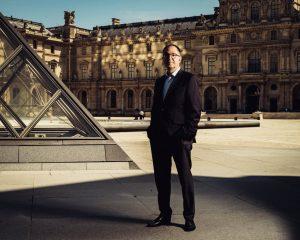 Президент музея Лувр Жан-Люк Мартинес