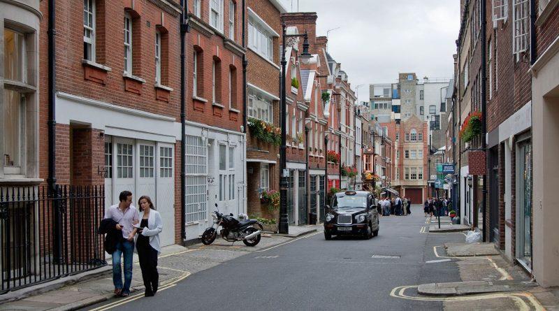 гулять по Лондону