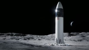 The vehicle is based on SpaceX's Starship design