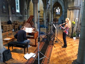 The new album features Christopher Glynn (fortepiano) and the violinist Rachel Podger.
