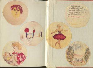 Агаровое искусство в исполнении Александра Флеминга / American Society for Microbiology  - рисунки в книге
