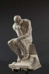 Auguste Rodin, The Thinker. 1903