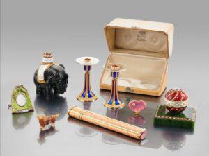 Коллекция изделий фирмы Фаберже, принадлежавшая Александре Анастасии Гамильтон, герцогине Аберкорнской