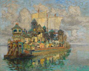 Константин Горбатов. «Невидимый град Китеж»