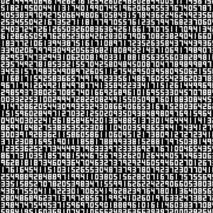Ryoji Ikeda A Single Number That Has 10,000,086 Digits