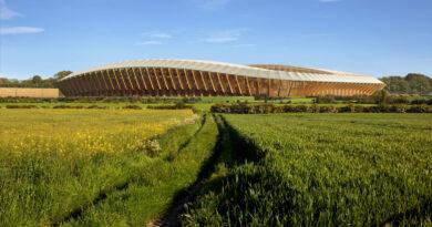 Английский футбольный клуб построит первый в мире современный стадион из древесины