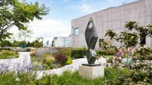 Новый сад галереи The Hepworth Wakefield возник в период локдаун