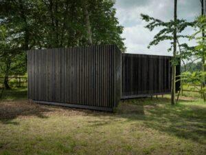 David Adjaye, Horizon Pavilion 2017.  © Jonty Wilde and Albion Fields