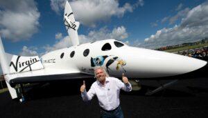 ричард брэнсон полет в космос