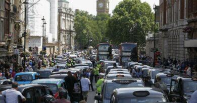 пробки в лондоне