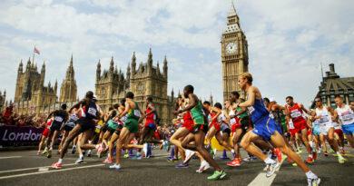 лондонский марафон