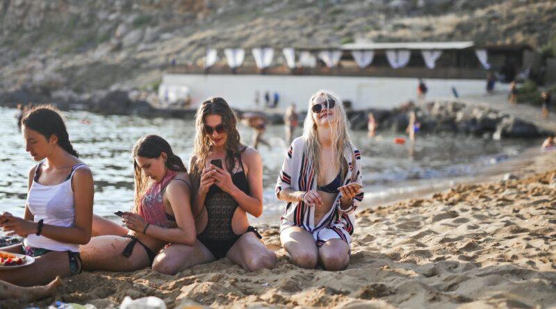 живописные песчаные пляжи Британии